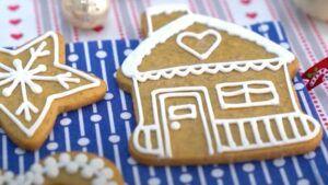 Receta de galletas de navidad chilena