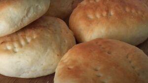 Receta de pan amasado casero chileno