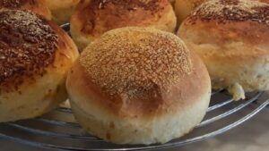 Receta de pan de papas