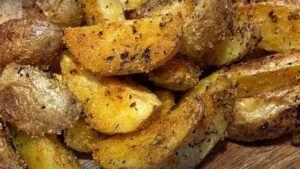 Receta de papas rústicas chilenas al horno