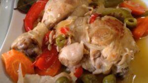 Receta de pollo en escabeche o escabechado chileno