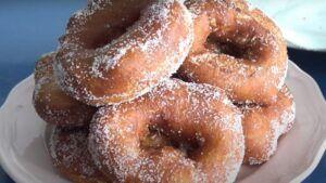 Receta de rosquillas o roscas chilenas fritas