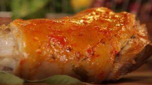 Receta de pernil de cerdo con ají chileno