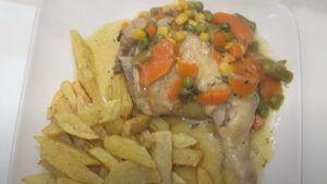 Receta de pollo al jugo chileno