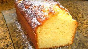 Receta de queque de limón chileno